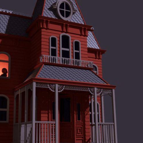 Psycho house animation