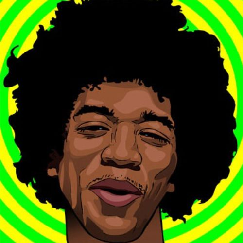 Graphic Jimmy Hendrix