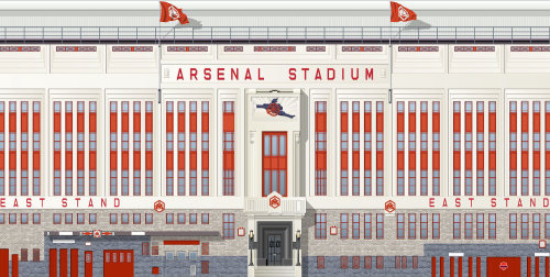 Thirties Arsenal Footbal stadium
