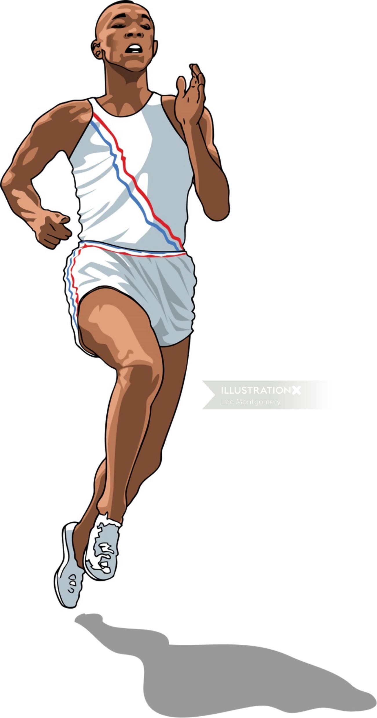 Jesse Owens Running