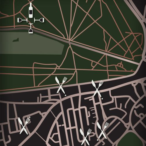 Maps Restaurant map