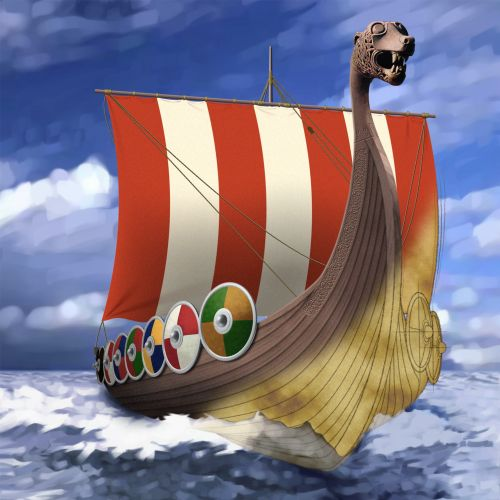 Nature Viking Ship