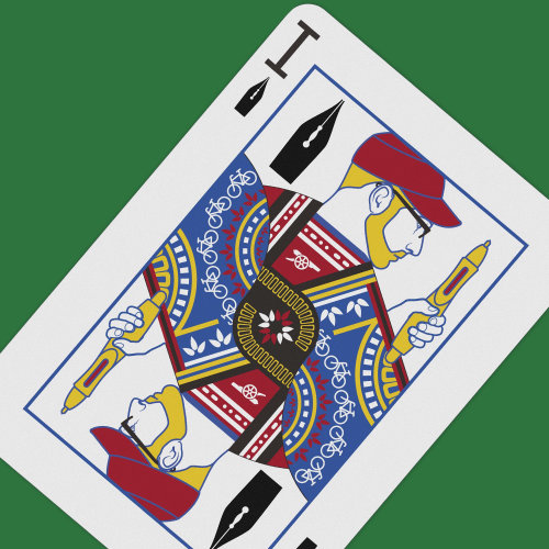Graphic Playing Card