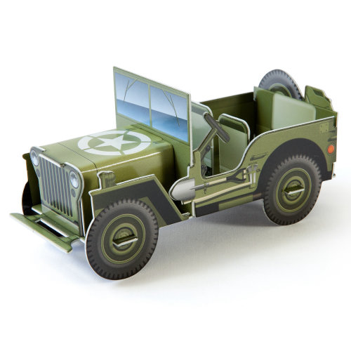 Illustration of willys jeep