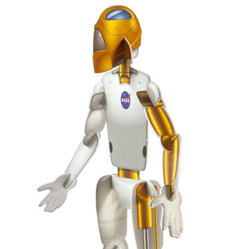 Illustration of NASA robot model