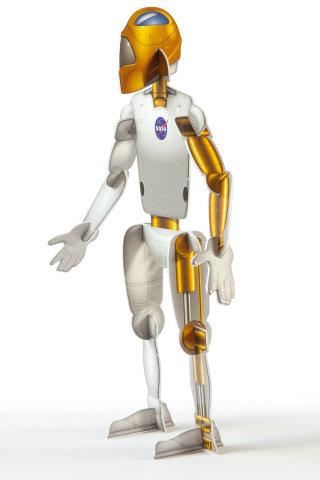 Illustration of NASA robot model
