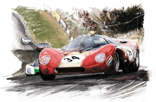 赛车技术草图