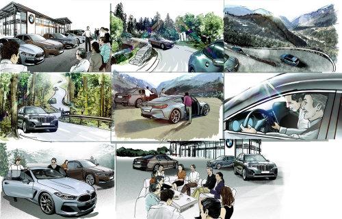 汽车技术故事板