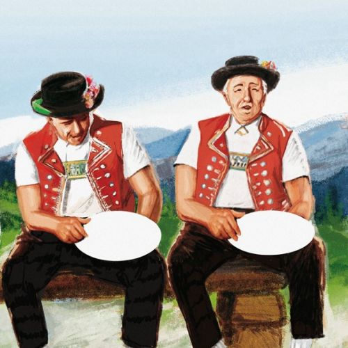 two old man sitting on bench
