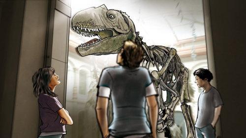 恐龙制作故事板