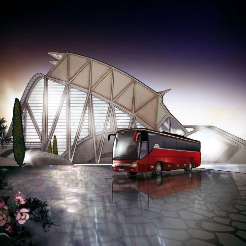 Architecture of Bus complex