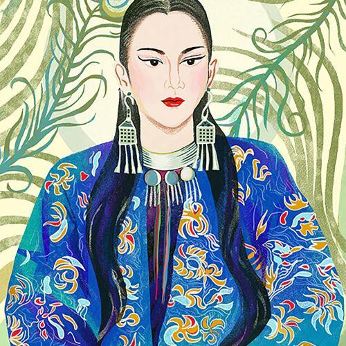 Portrait of Yang Liping