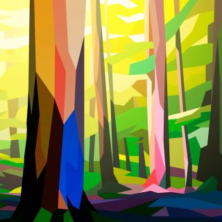 Forest landscape by Liam Brazier