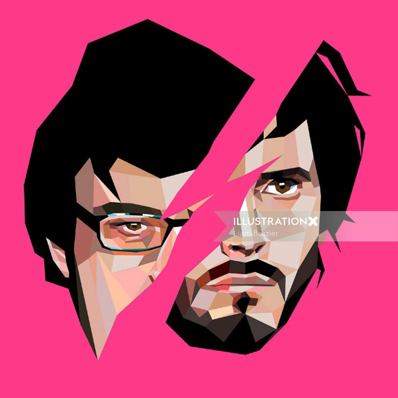 illustration of conchords