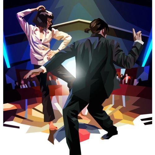 The Flood Gallery vegas dancer poster