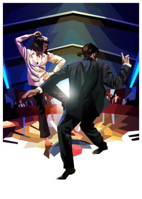 The Flood Gallery vegas dancer poster