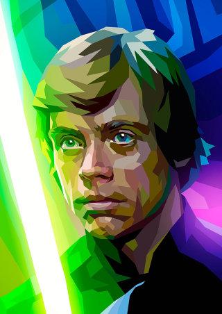 CGI rendering of Luke Skywalker, Character in Star Wars