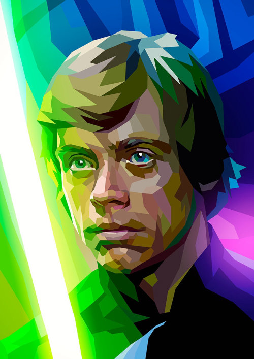 CGI rendering of Luke Skywalker, Character in Star Wars
