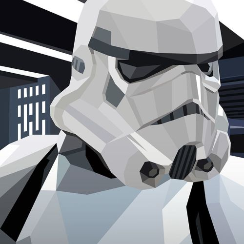 CGI art of Stormtrooper, Character in Star Wars