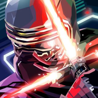 3D illustration of Kylo Ren, Star Wars