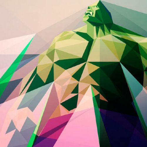 Hulk,  3D illustration