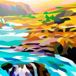 River, landscape by Liam Brazier