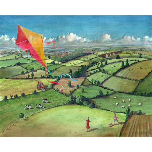 BBC CountryFile Magazine How to fly a kite