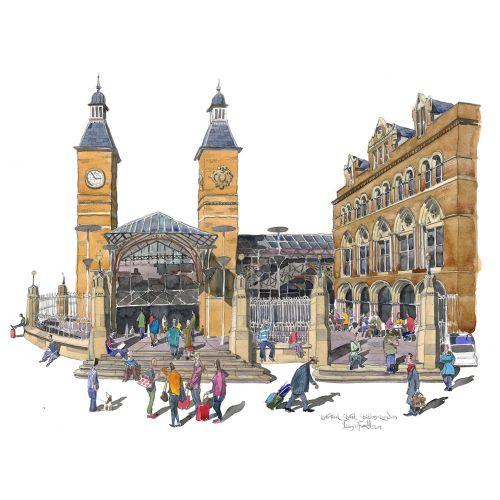 Architecture, London, Trains, Cityscape