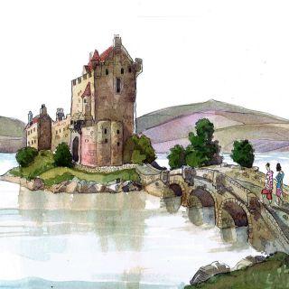 Liam O'Farrell Watercolor