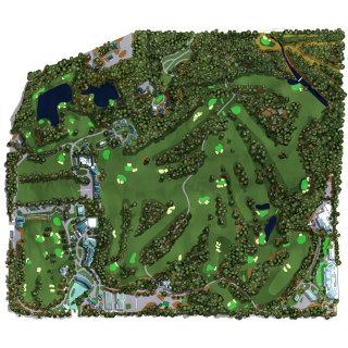 golf, arial view, satellite, sport