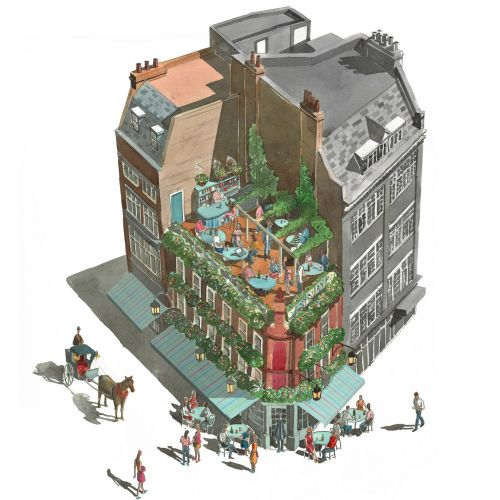 Liam O'Farrell Architecture Illustrator from UK