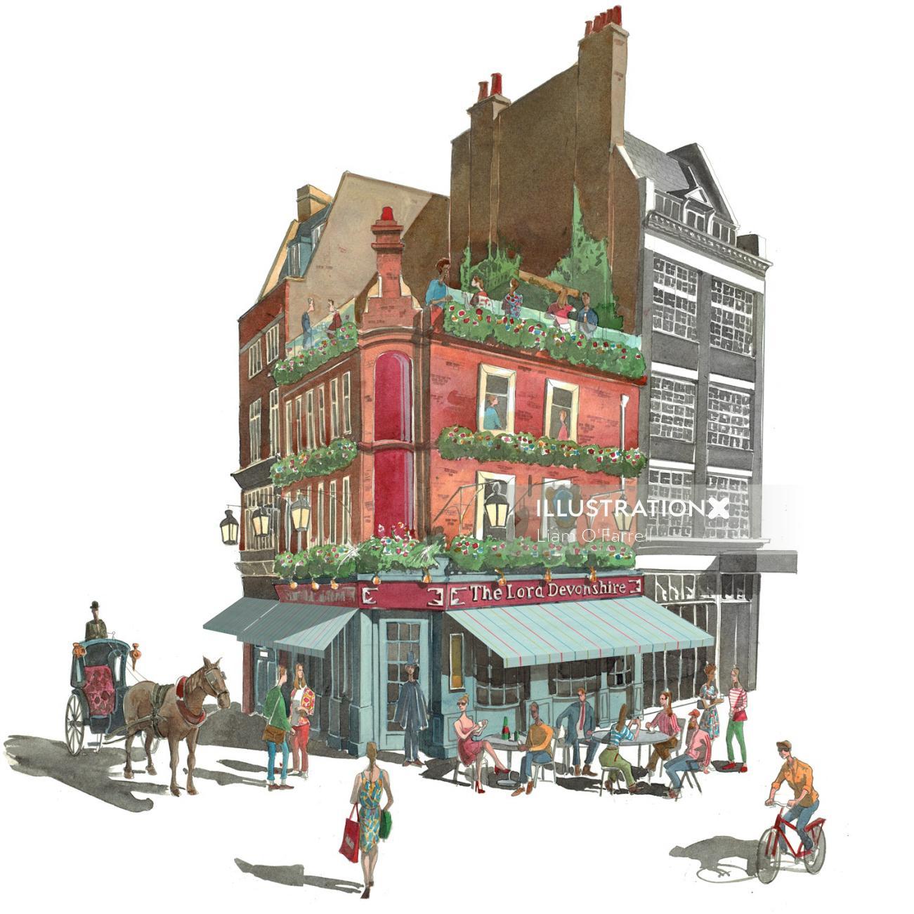 #architecture #Pub #restaurant