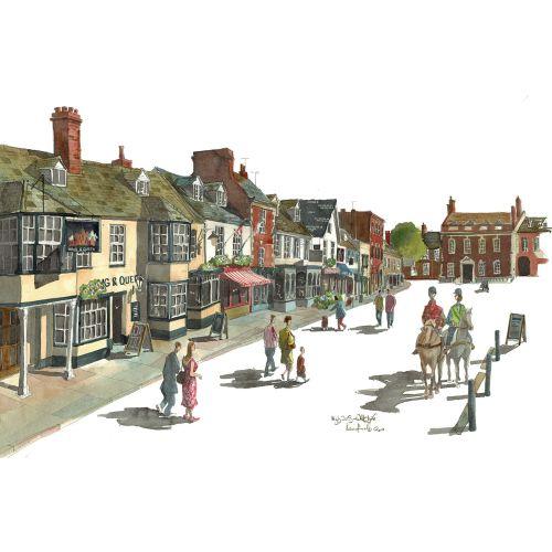 Liam O'Farrell Ilustrador de arquitectura y estilo de vida. Reino Unido