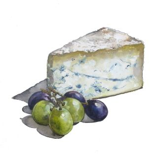 Illustration of cheese