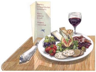 Food illustration by Liam O'Farrell