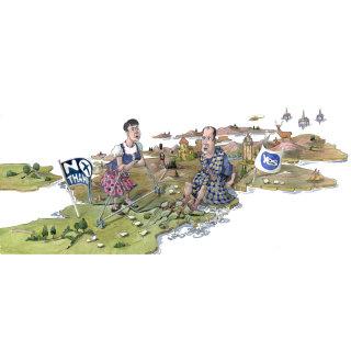 Political Cartoon on Scottish independence