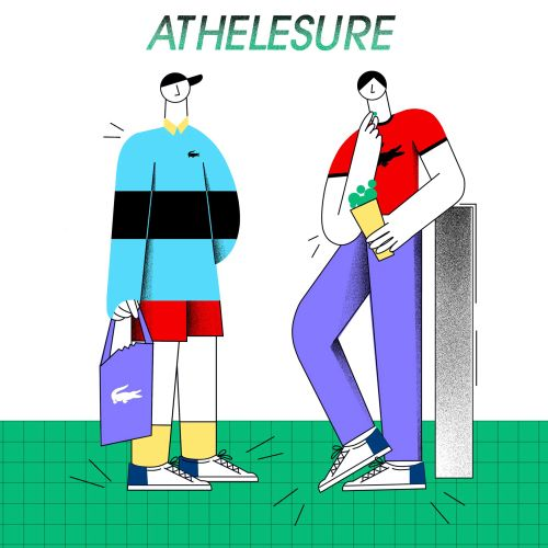 Fashion athelesure people
