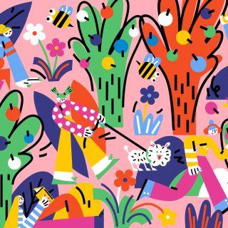 Lin Chen - International Editorial, Fashion, Lifestyle Illustrator. China