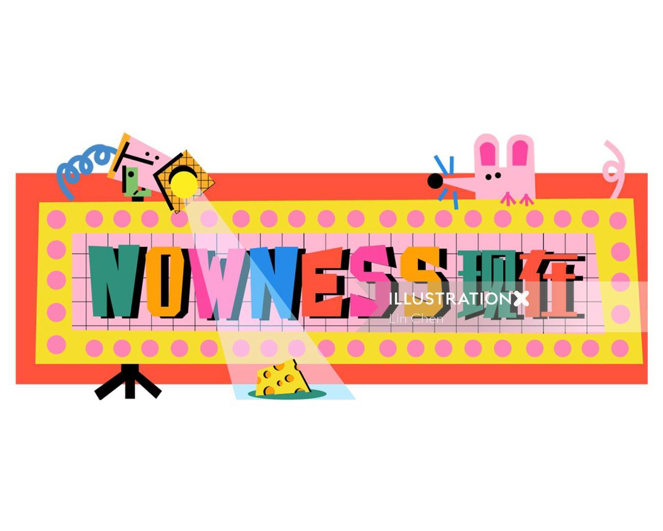 Nowness typographic