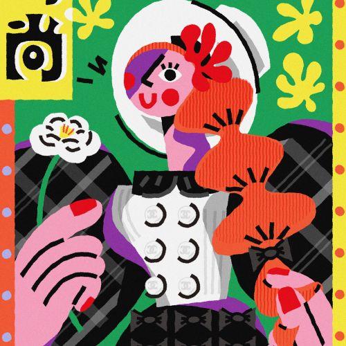 Lin Chen Editorial internacional, ilustrador de moda y estilo de vida. China