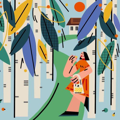 Lin Chen International Editorial, Fashion, Lifestyle Illustrator. China