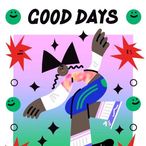 Graphic girl on skateboard