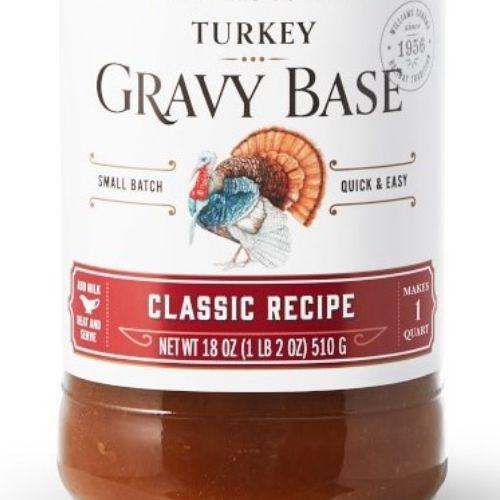 Food packaging illustration of Turkey gravy