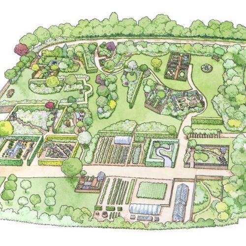 Plan of Gardens