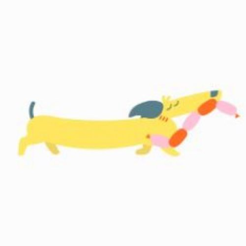 animated Image of Sausage Dog