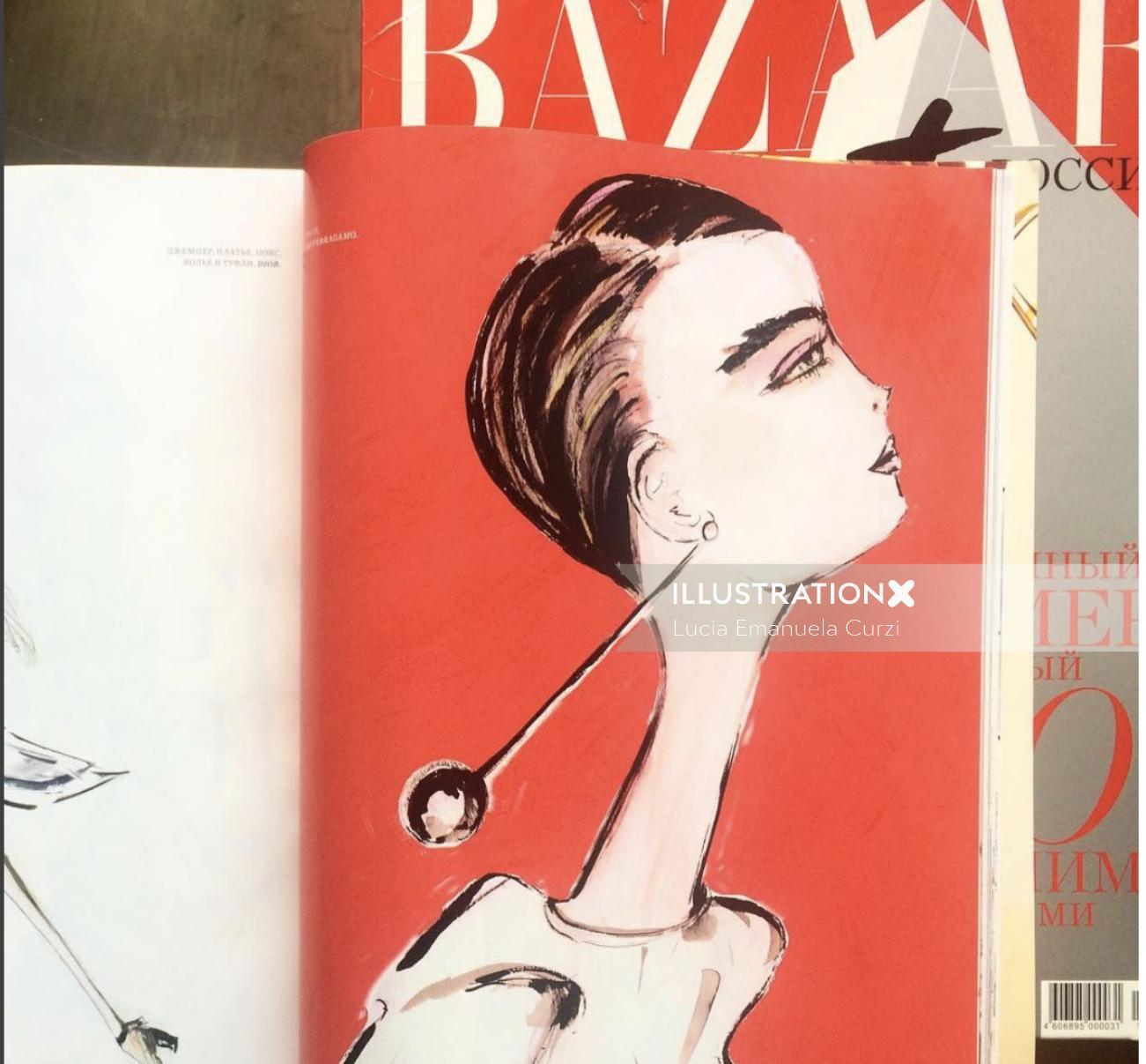 Fashion Bazaar magazine cover