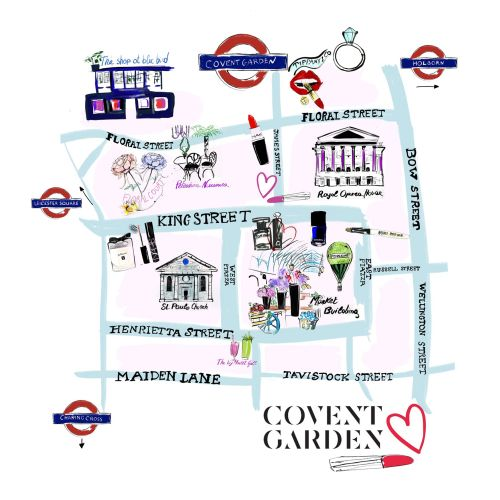 Maps Covent Garden street view