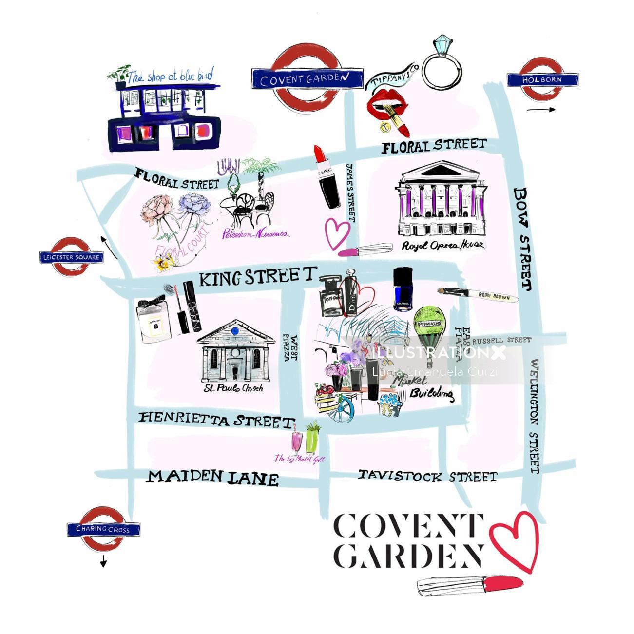 Maps Covent Garden street view