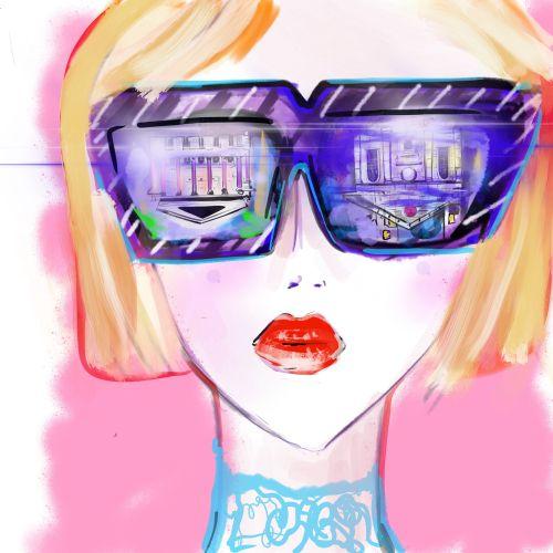 Lucia Emanuela Curzi Ilustradora de moda y belleza • Londres