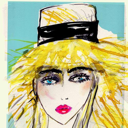 Lucia Emanuela Curzi Mode- und Schönheitsillustrator • London